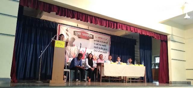 जेएसडब्ल्यू पोर्ट कंपनीविरोधात ग्रामस्थांचं भजन-किर्तन आंदोलन