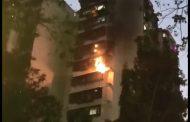 पवईतील म्हाडाच्या इमारतीत आग; जीवितहानी नाही