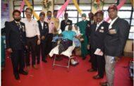 थल सेना दिवसानिमित्त कोकण भवन येथील रक्तदान शिबिराला उत्स्फूर्त प्रतिसाद