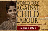 जागतिक बालमजुरीविरोधी दिनानिमित्त नोबेल विजेते कैलाश सत्यार्थी यांच्यावरील चित्रपटाचे प्रसारण
