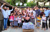 नवाब मलिक यांचा वाढदिवस आश्रमातील मुलांसोबत साजरा