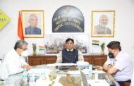 केंद्रीय मंत्री मनसुख मांडवीय यांच्या अध्यक्षतेखाली सागरी राज्य विकास परिषदेची (MSDC) अठरावी बैठक संपन्न