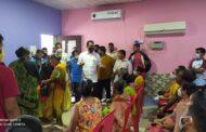 मनोरी गावात एकाच दिवशी 300 ग्रामस्थांचे लसीकरण; आमदार सुनील राणे यांचा पुढाकार
