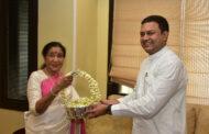 आशा भोसले यांना'महाराष्ट्र भूषण'पुरस्कार जाहीर- हा राज्य शासनाचा बहुमानच :सांस्कृतिक कार्य मंत्री अमित देशमुख